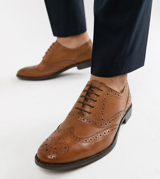 Oxfords with broguing